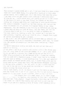 Lynn Seymour story 1